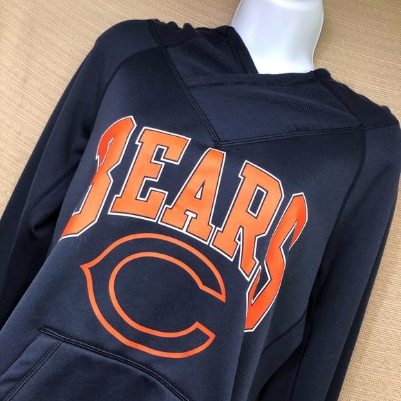 Nike Tops - Nike NFL Chicago Bears Women's  Hooded Sweatshirt